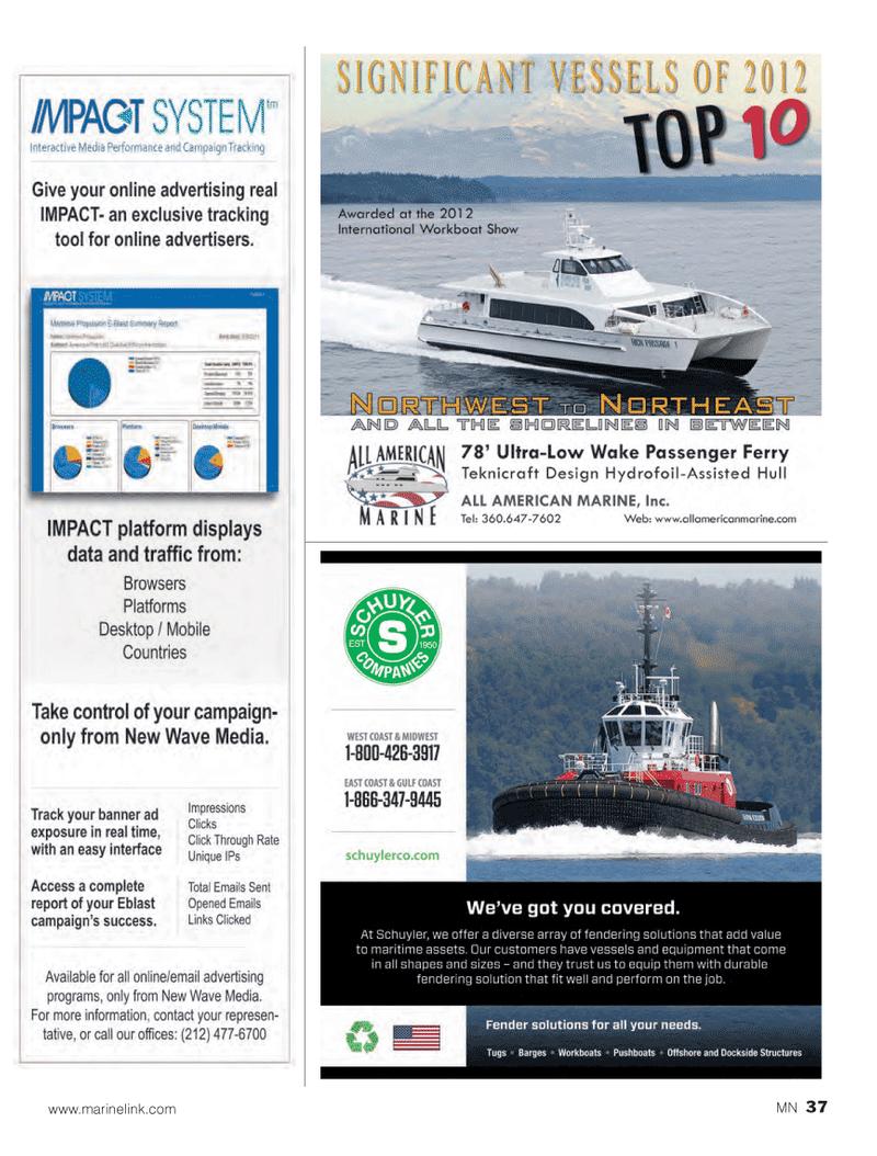 Marine News Magazine, page 37,  Oct 2013