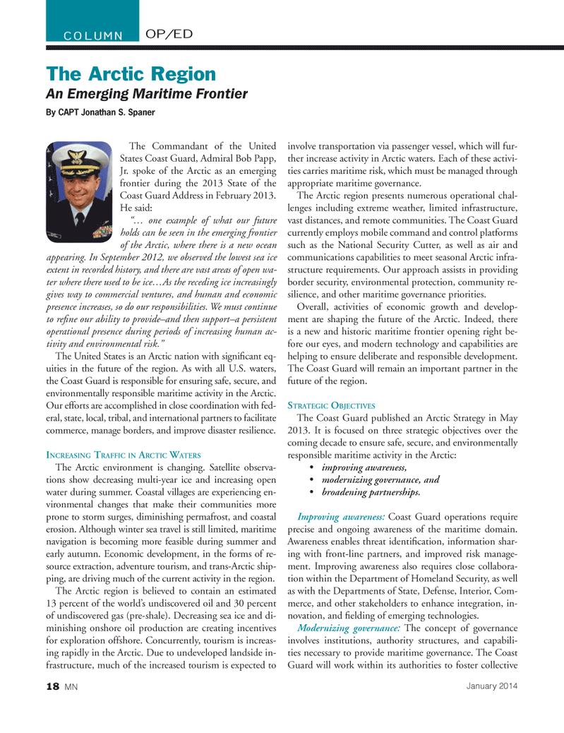 Marine News Magazine, page 18,  Jan 2014 US Federal Reserve