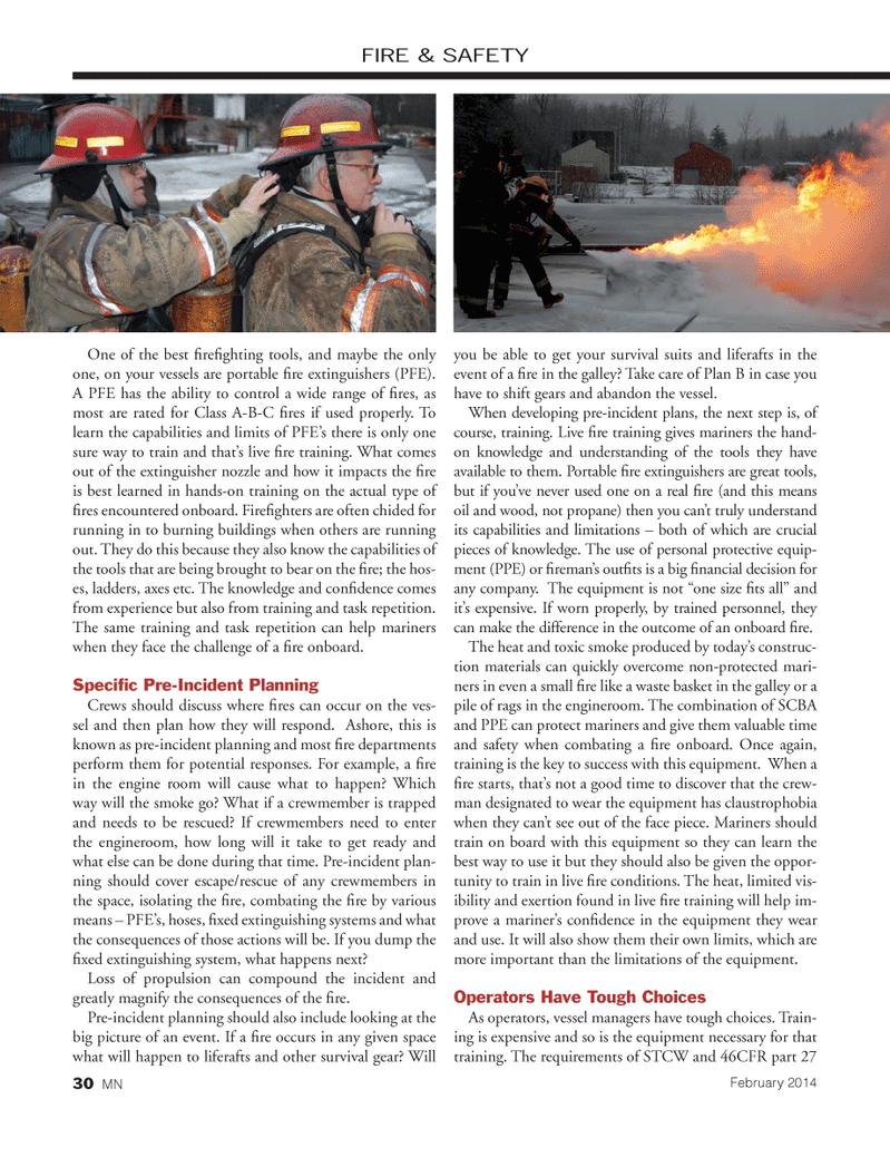 Marine News Magazine, page 30,  Feb 2014