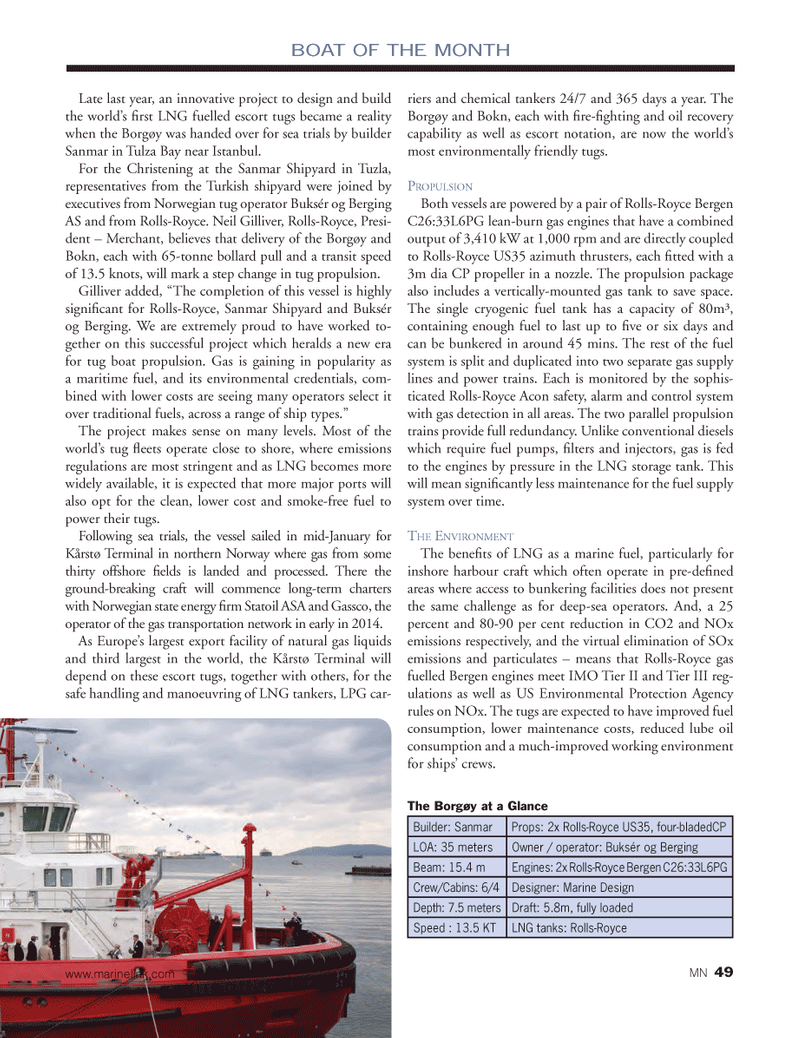 Marine News Magazine, page 49,  Feb 2014