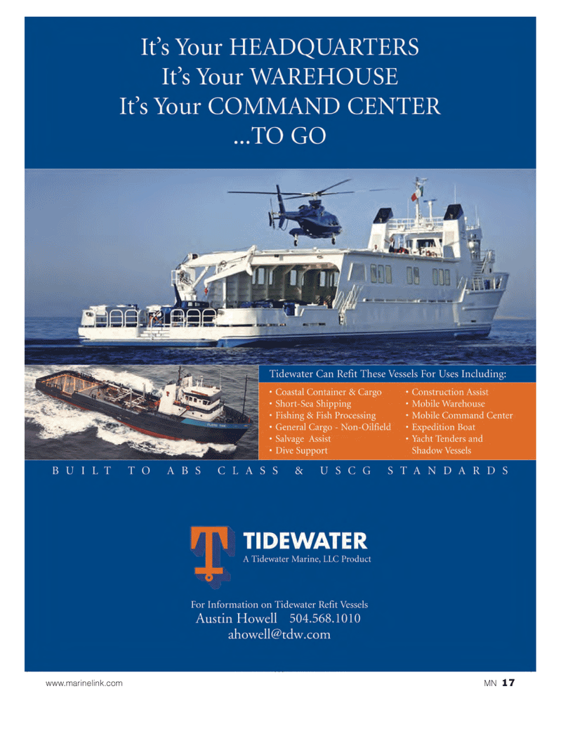 Marine News Magazine, page 17,  Mar 2014