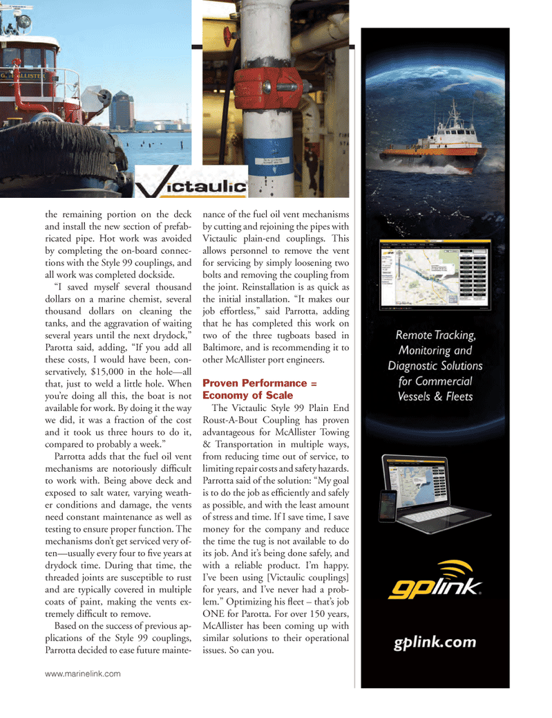 Marine News Magazine, page 35,  Mar 2014 fuel oil vent mechanisms