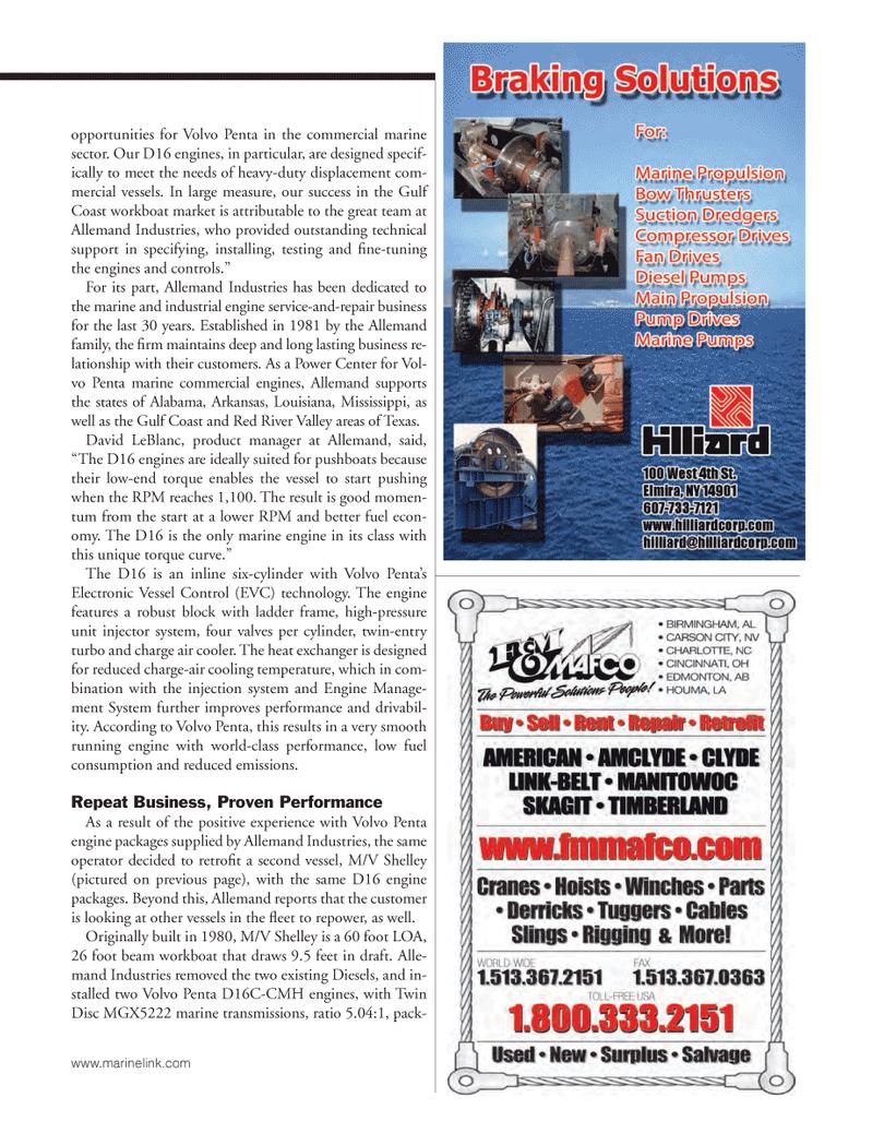 Marine News Magazine, page 37,  Mar 2014 Louisiana