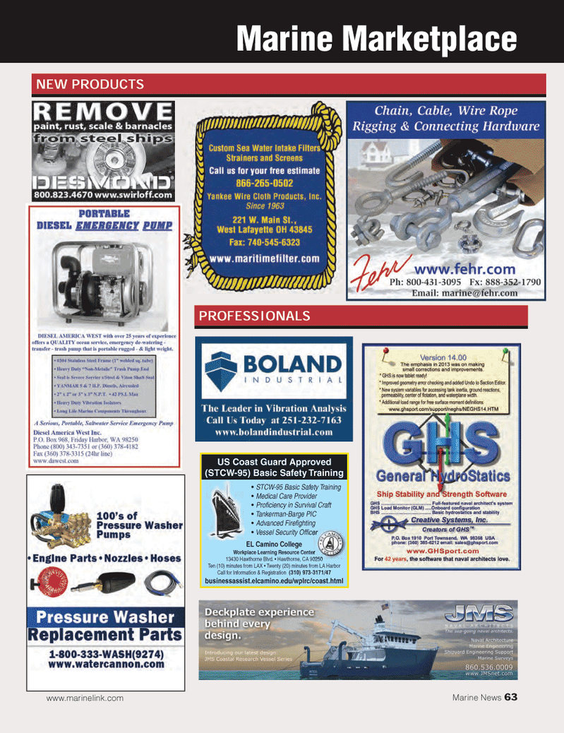 Marine News Magazine, page 63,  Mar 2014