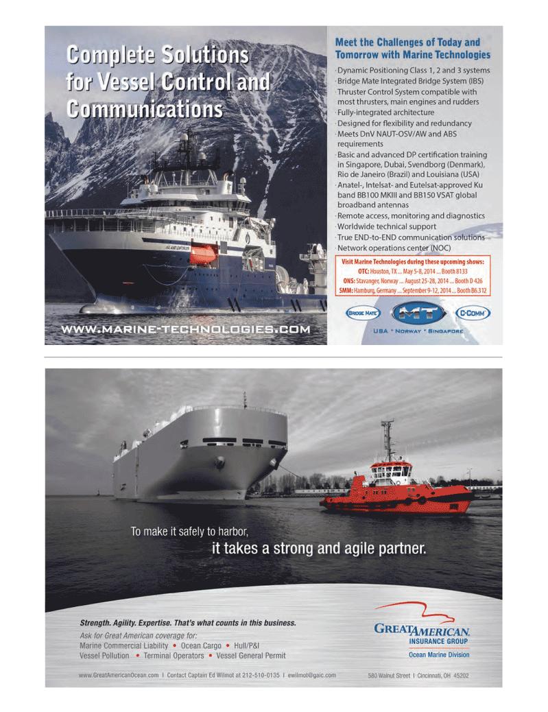 Marine News Magazine, page 37,  May 2014