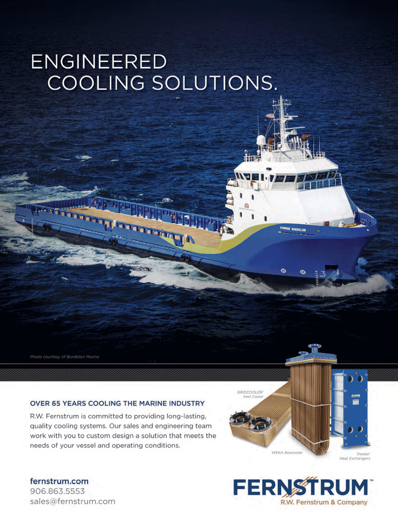 Marine News Magazine, page 4th Cover,  May 2014