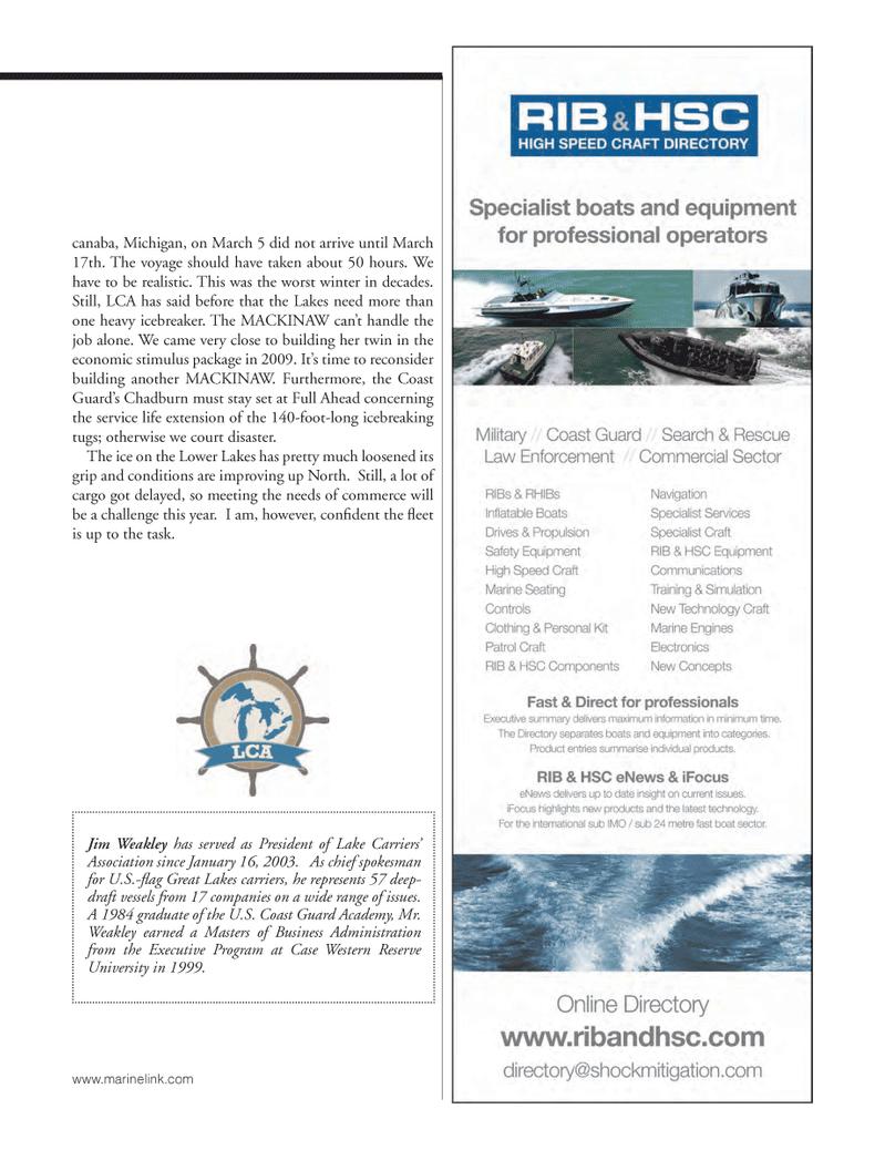 Michigan, Marine News Magazine June 2014 #27