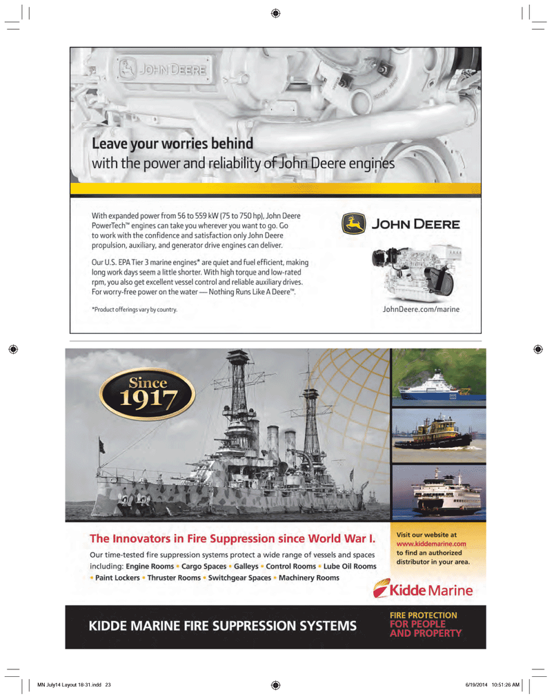 Marine News Magazine, page 23,  Jul 2014
