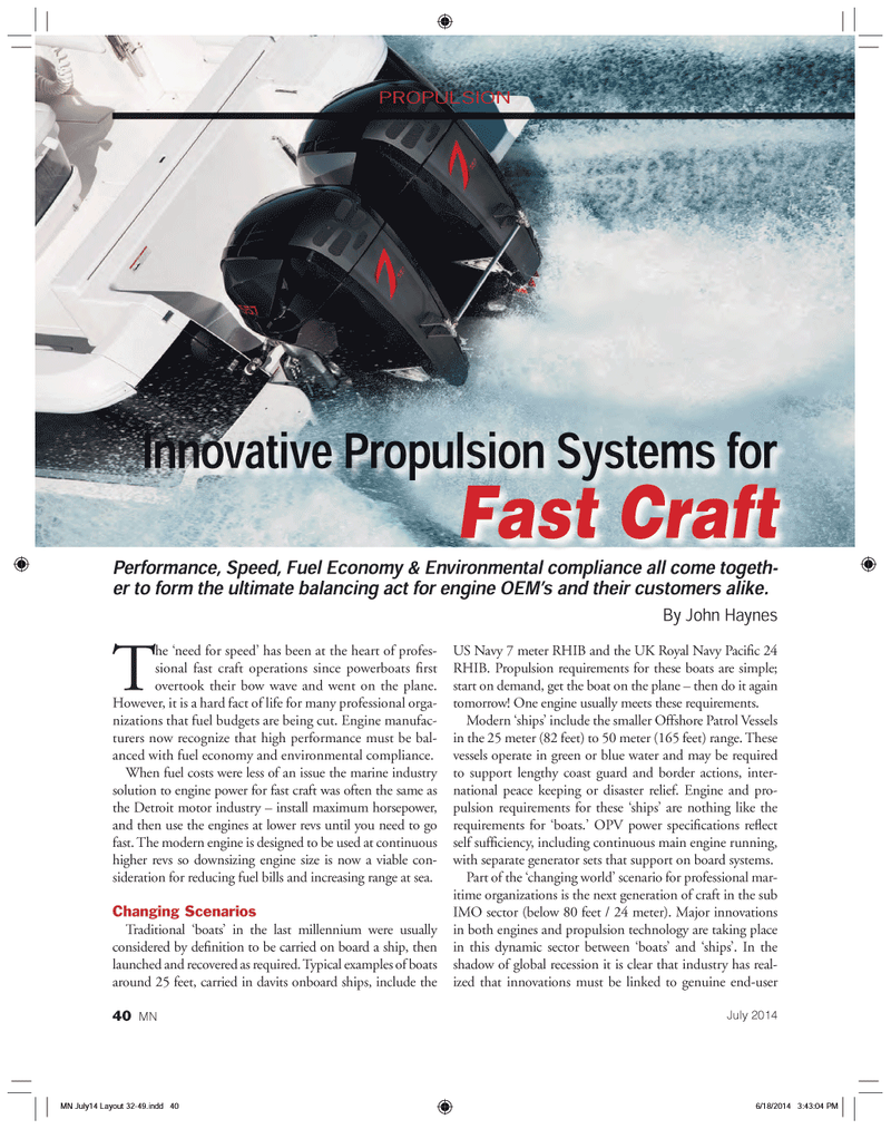 Marine News Magazine, page 40,  Jul 2014 United Nations