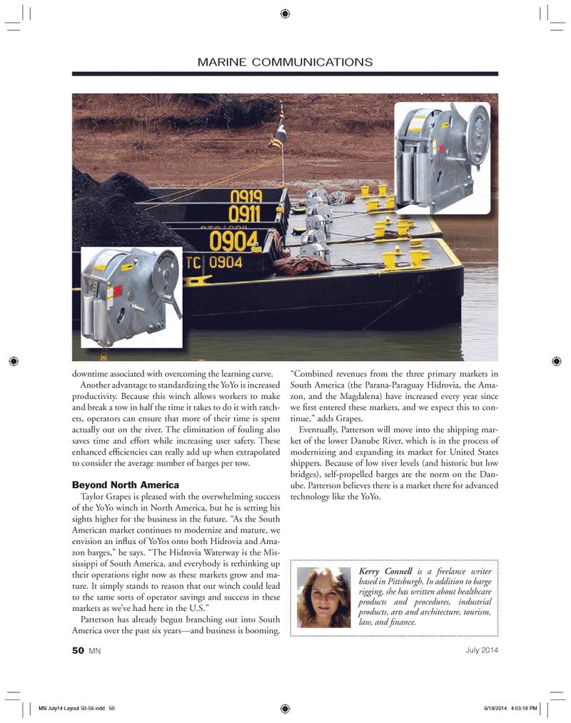 Marine News Magazine, page 50,  Jul 2014 Parana