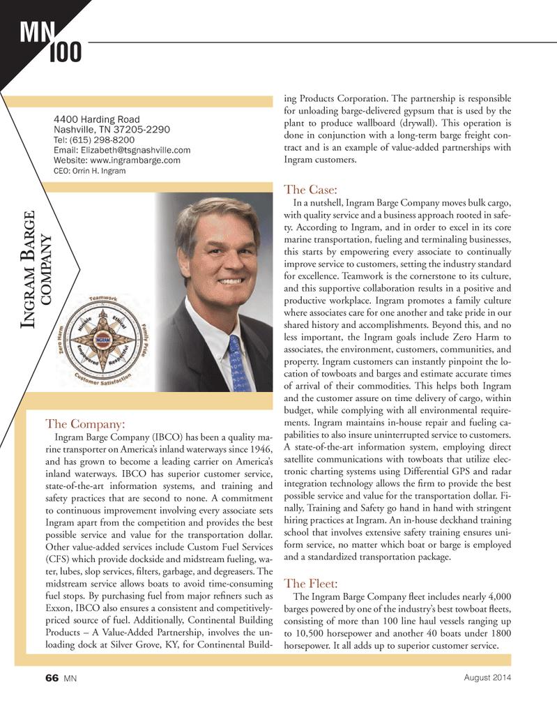 Marine News Magazine, page 66,  Aug 2014