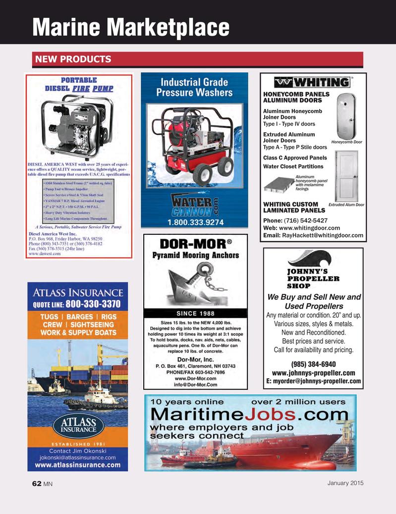 Marine News Magazine January 2015, 62 page