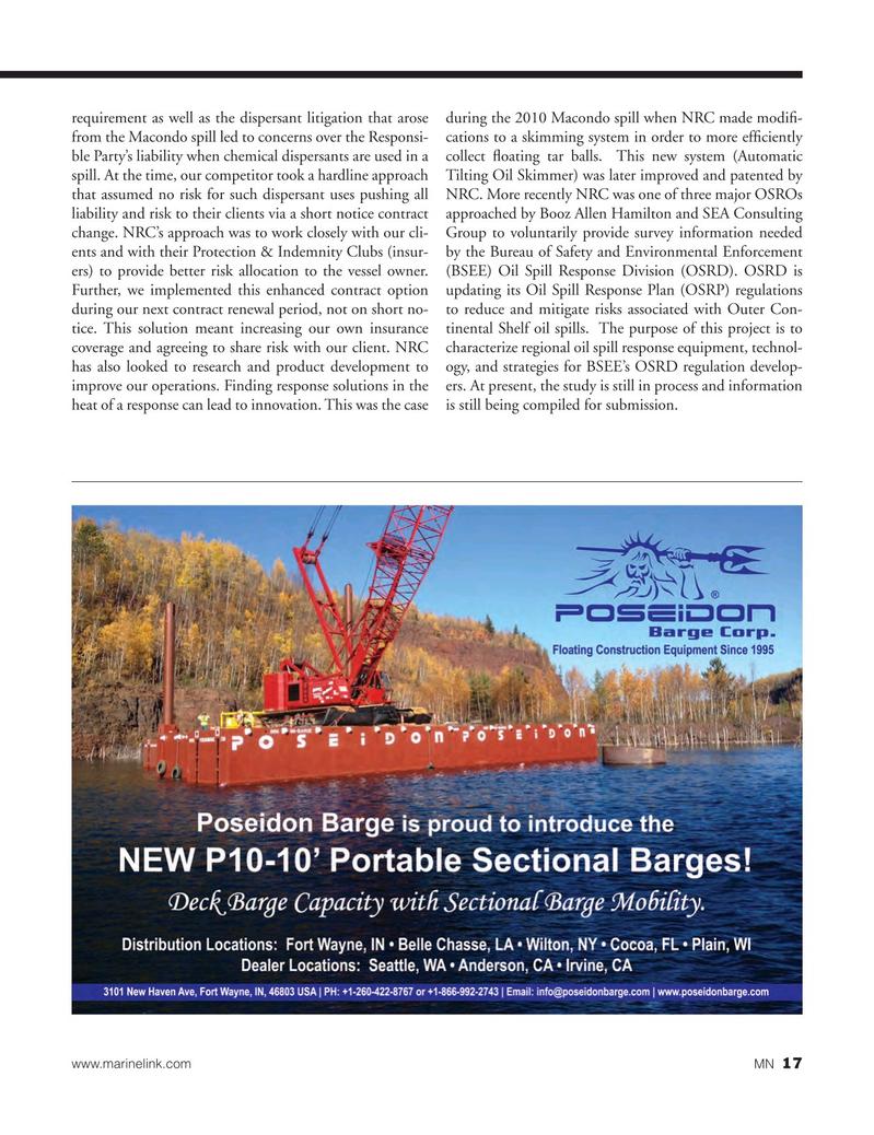 Marine News Magazine, page 17,  Mar 2015