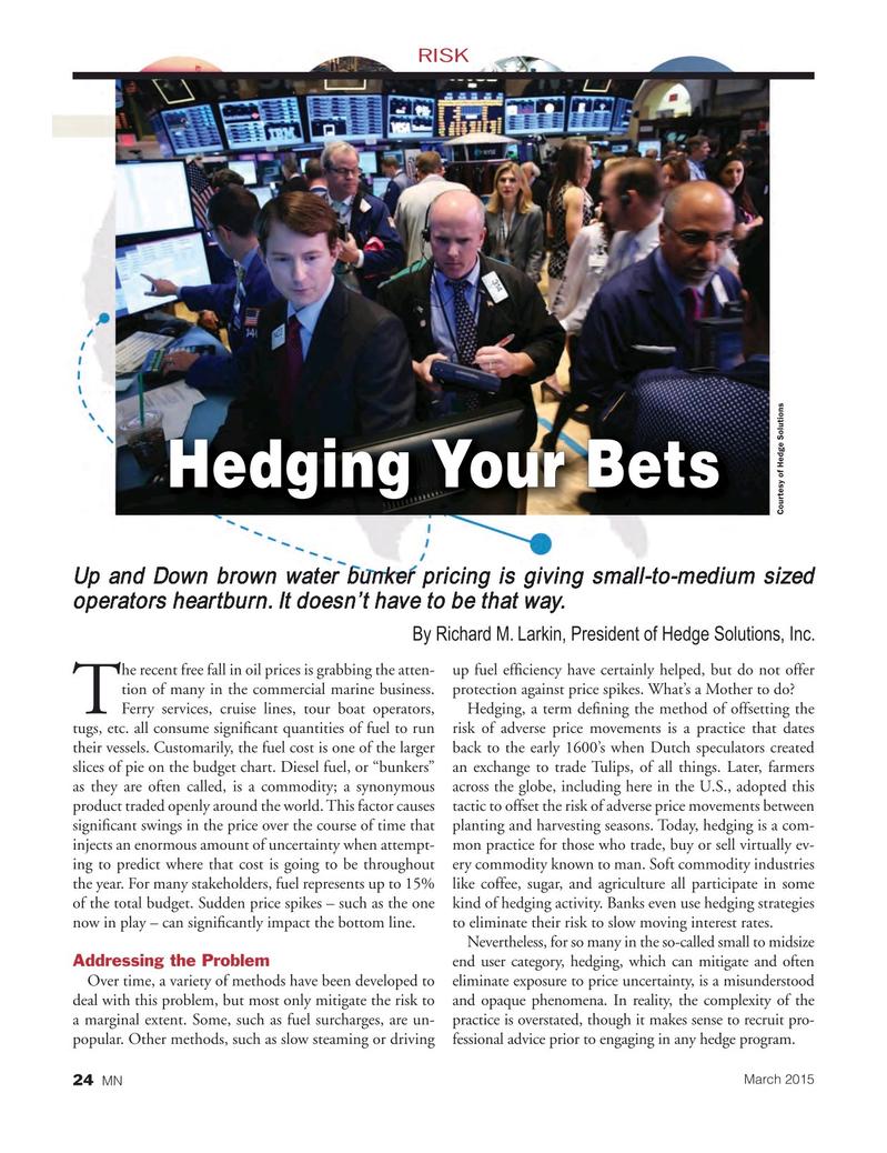 Marine News Magazine, page 24,  Mar 2015