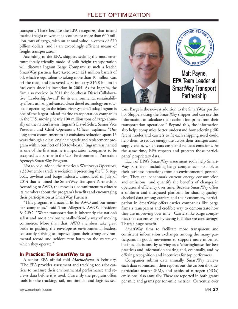 Marine News Magazine, page 37,  Mar 2015