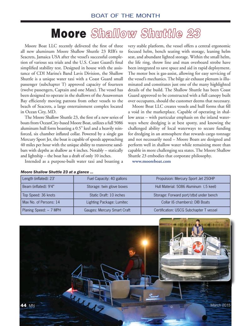Marine News Magazine, page 44,  Mar 2015