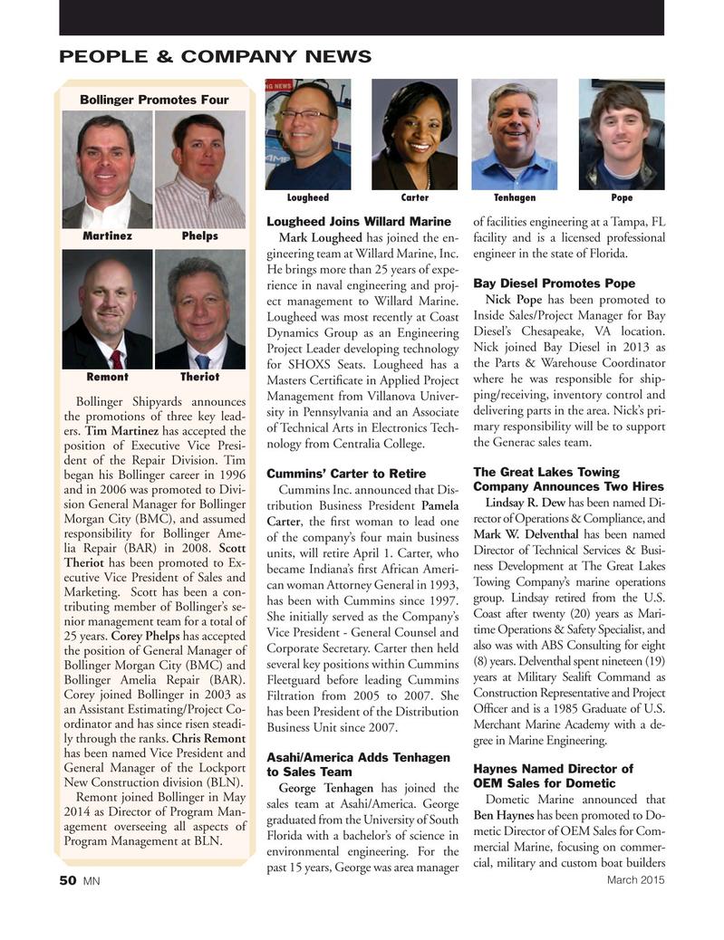 Marine News Magazine, page 50,  Mar 2015