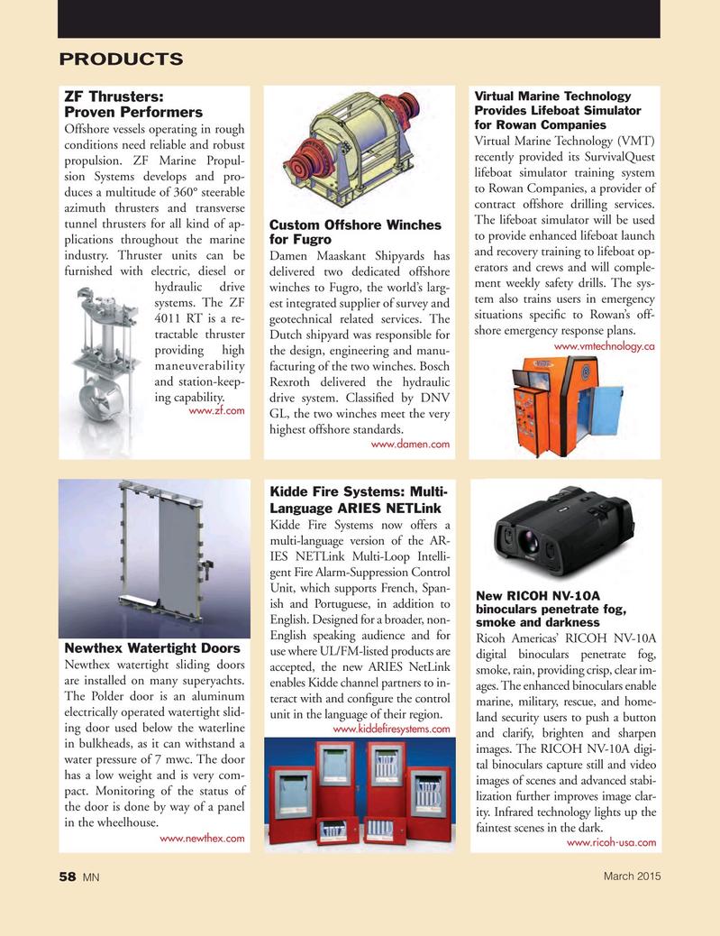 Marine News Magazine, page 58,  Mar 2015