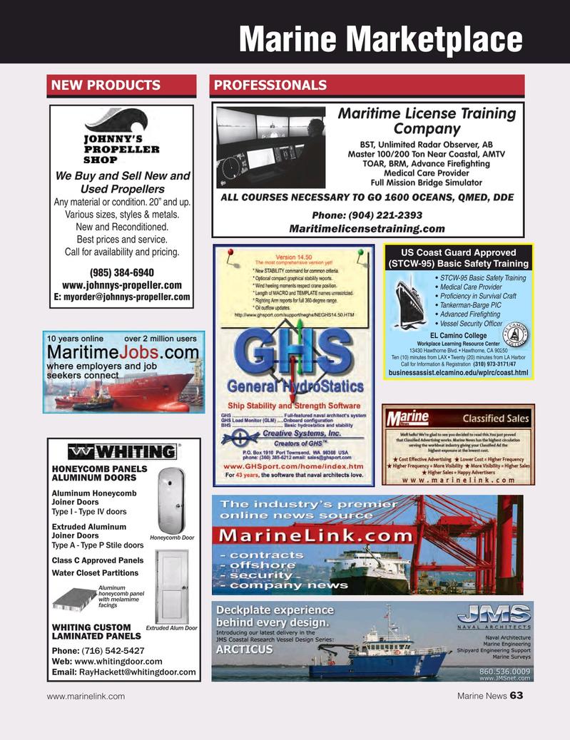 Marine News Magazine, page 63,  Mar 2015