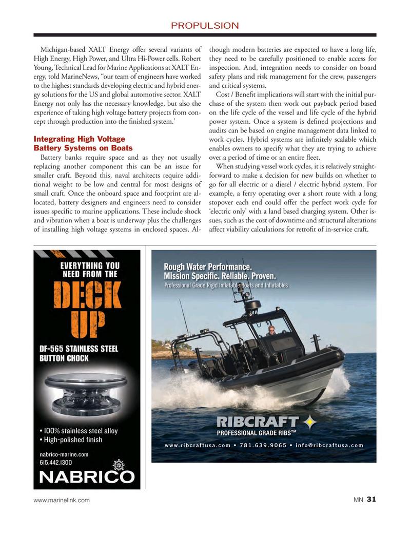Marine News Magazine, page 31,  May 2015