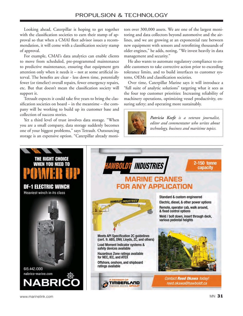 Marine News Magazine, page 31,  Jul 2015