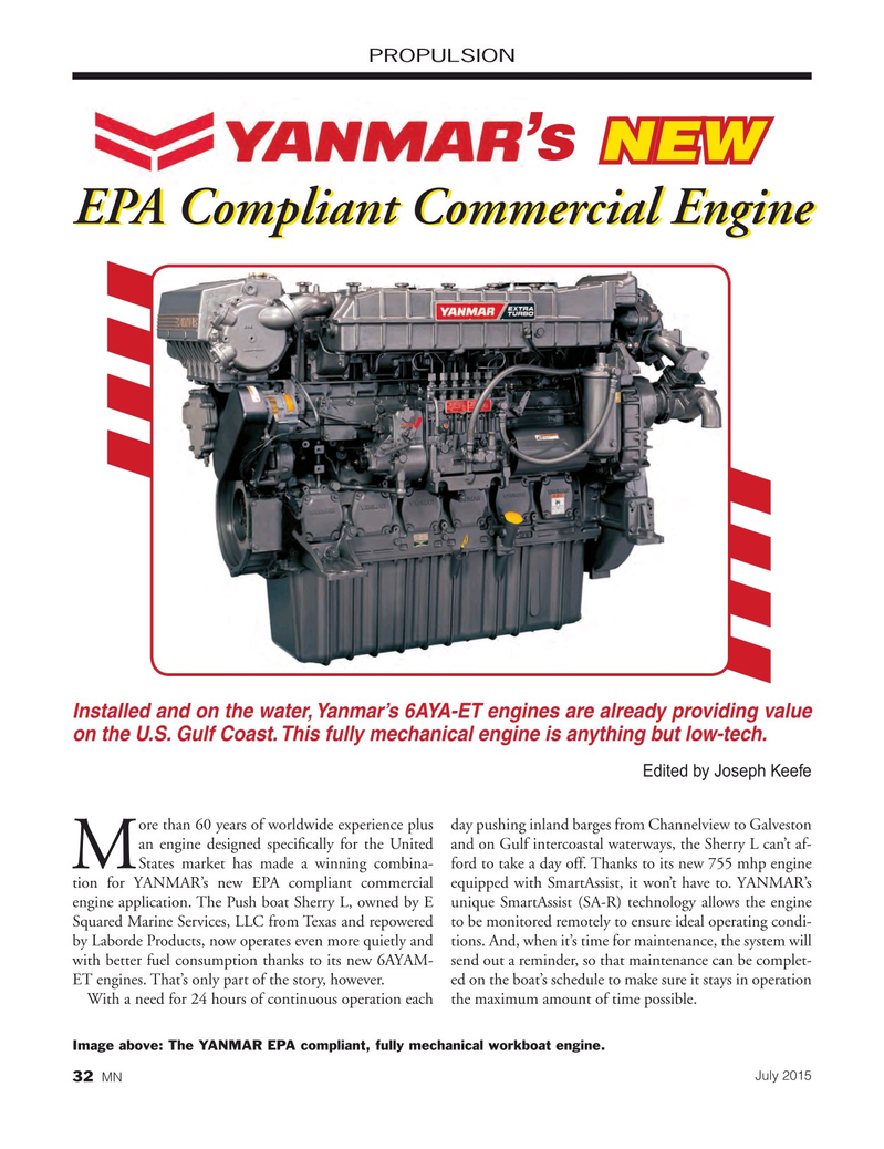 Marine News Magazine, page 32,  Jul 2015