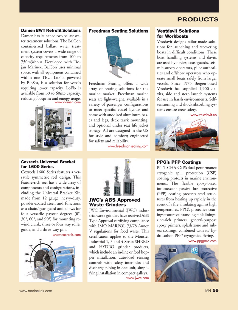 Marine News Magazine, page 59,  Jul 2015