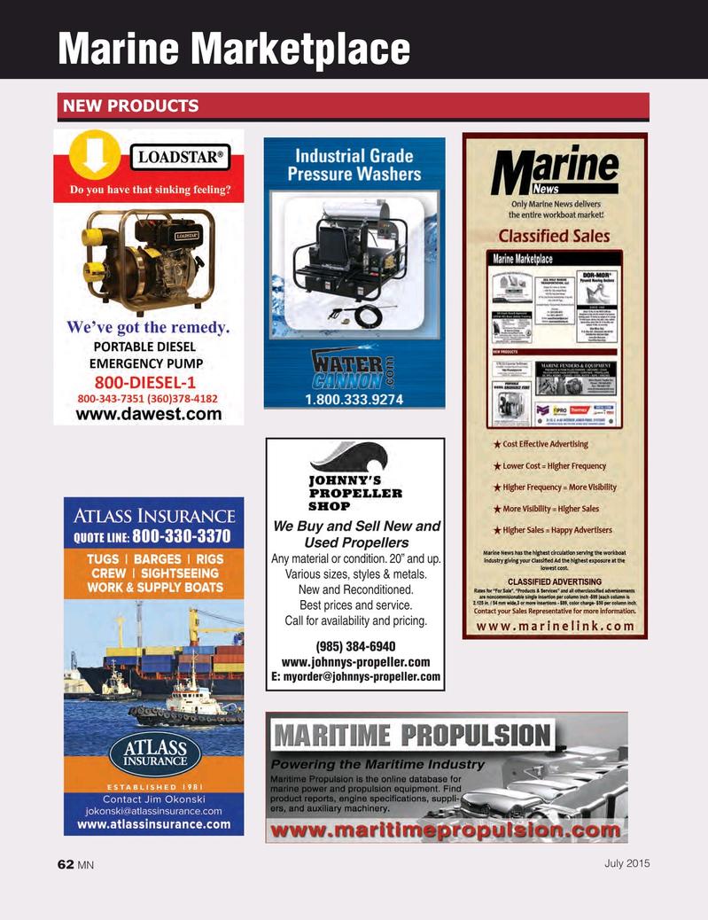 Marine News Magazine, page 62,  Jul 2015