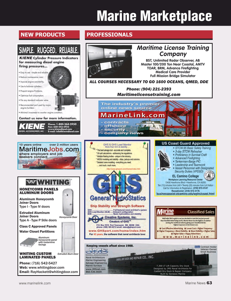Marine News Magazine, page 63,  Jul 2015