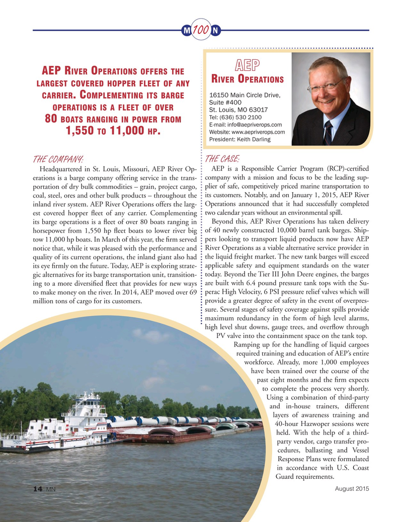 Marine News Magazine, page 14,  Aug 2015