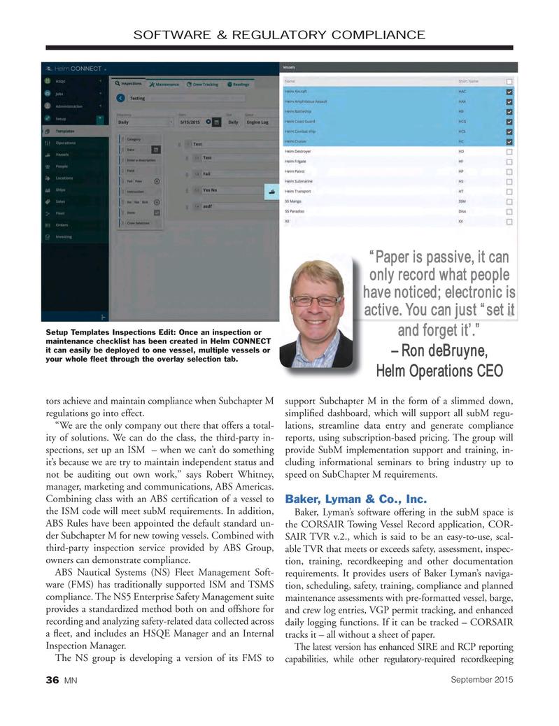Marine News Magazine, page 36,  Sep 2015