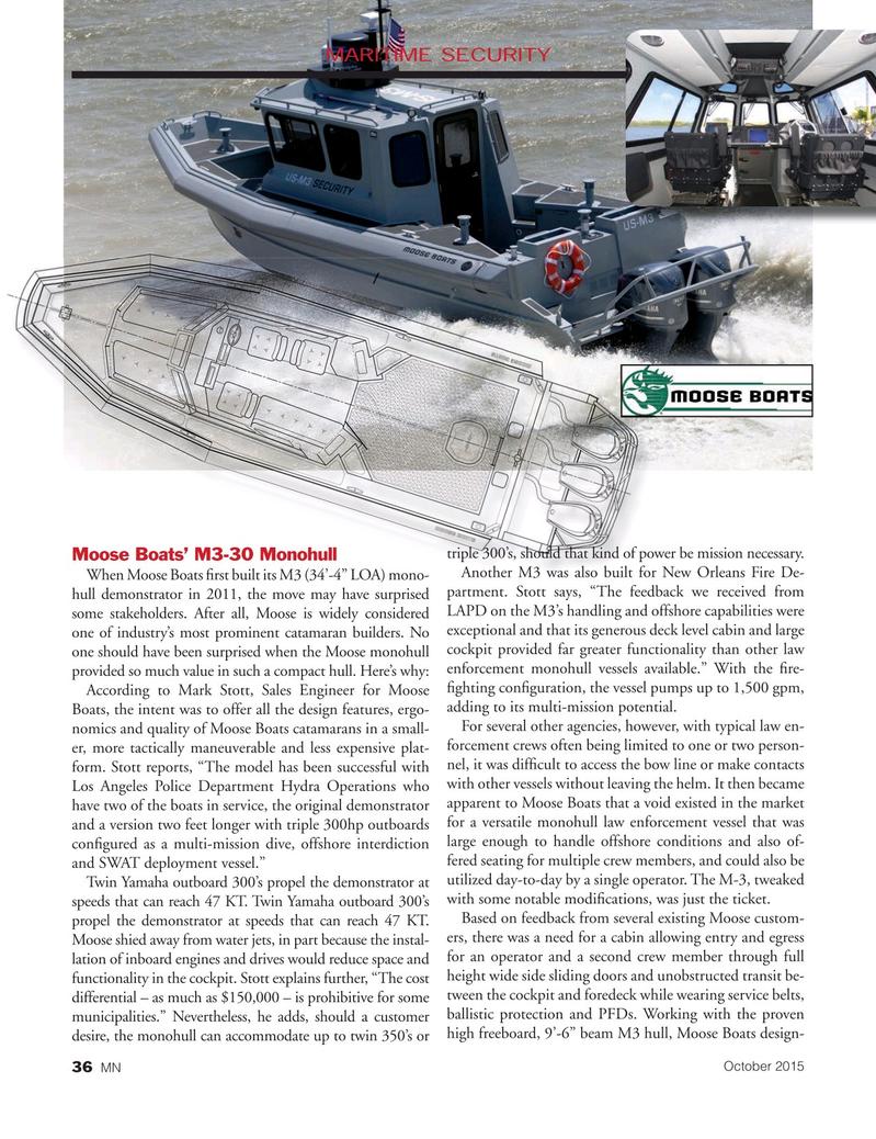 Marine News Magazine, page 36,  Oct 2015