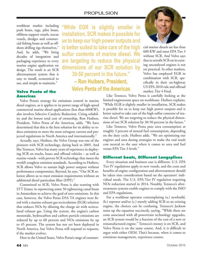 Marine News Magazine, page 44,  Oct 2015
