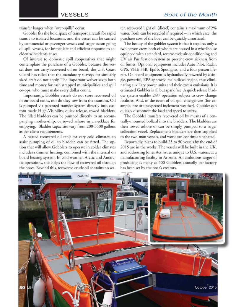 Marine News Magazine, page 50,  Oct 2015