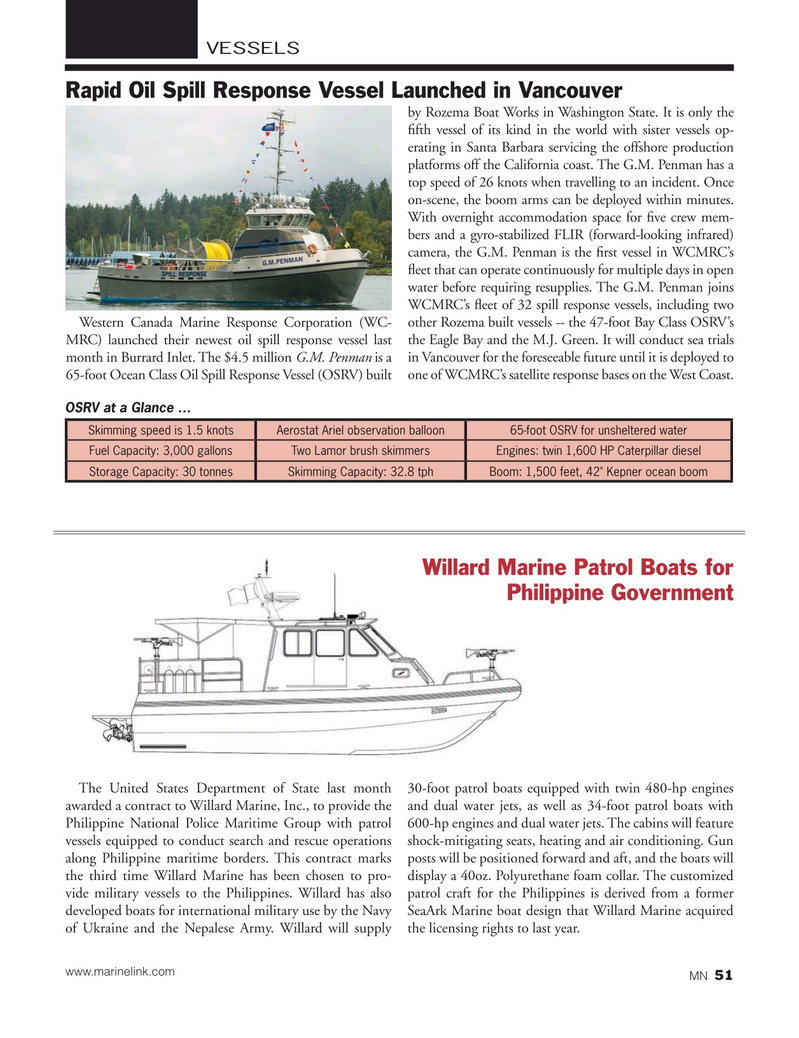 Marine News Magazine, page 51,  Oct 2015