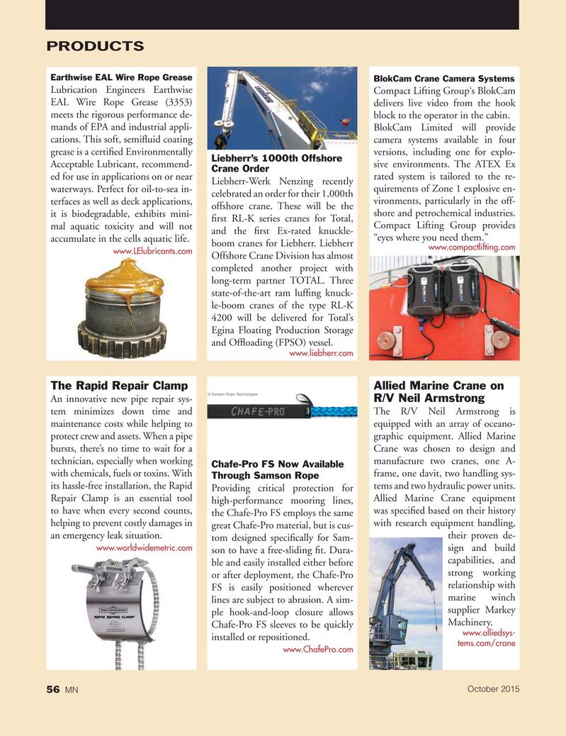 Marine News Magazine, page 56,  Oct 2015