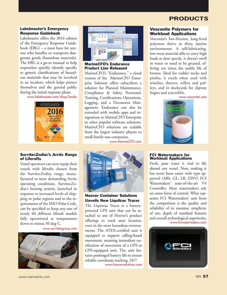 Marine News Magazine, page 57,  Oct 2015