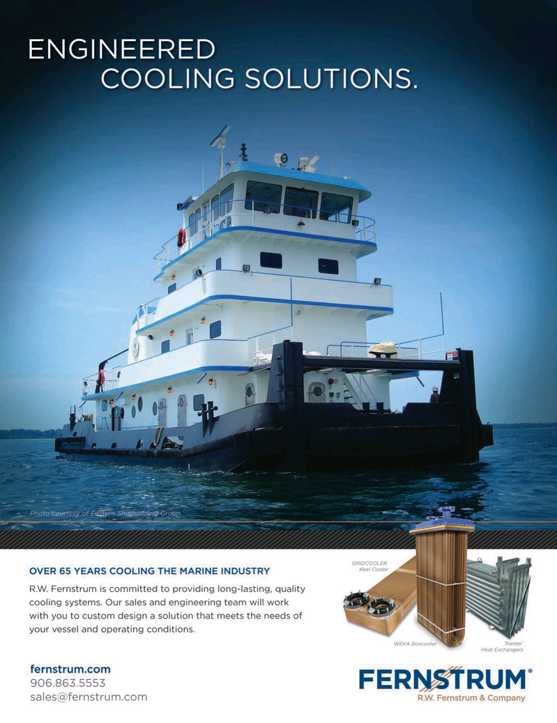 Marine News Magazine, page 4th Cover,  Oct 2015