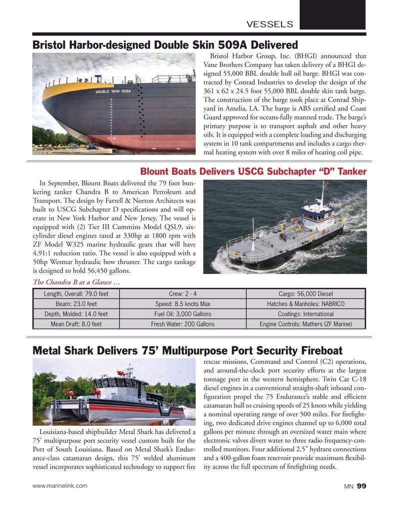 Marine News Magazine, page 99,  Nov 2015