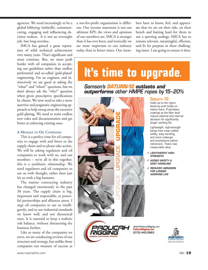 Marine News Magazine, page 19,  Dec 2015