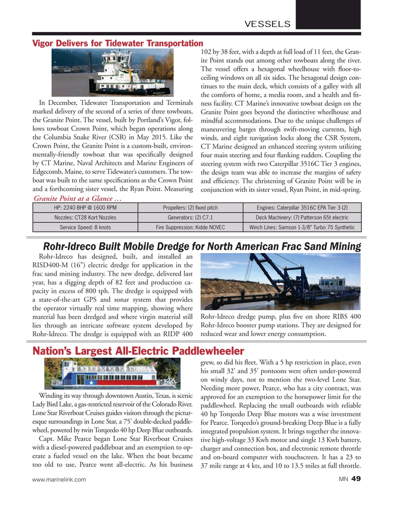 Marine News Magazine, page 49,  Feb 2016