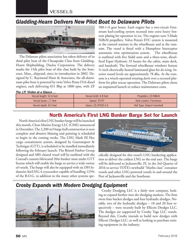 Marine News Magazine, page 50,  Feb 2016