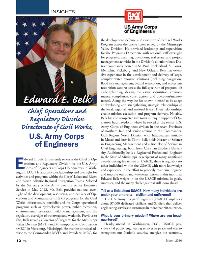 Marine News Magazine, page 12,  Mar 2016