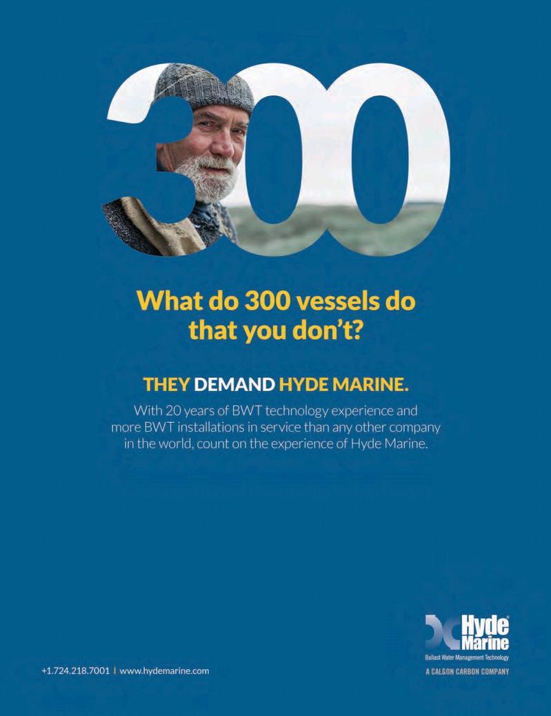 Marine News Magazine, page 2nd Cover,  Mar 2016