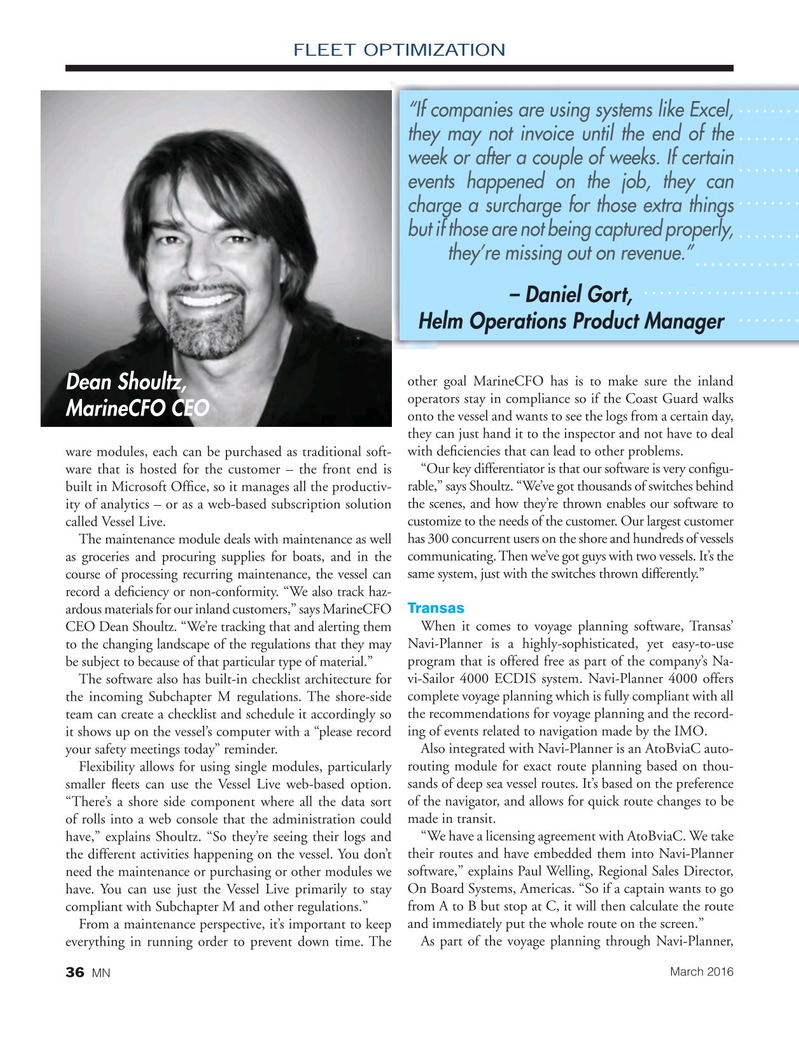 Marine News Magazine, page 36,  Mar 2016