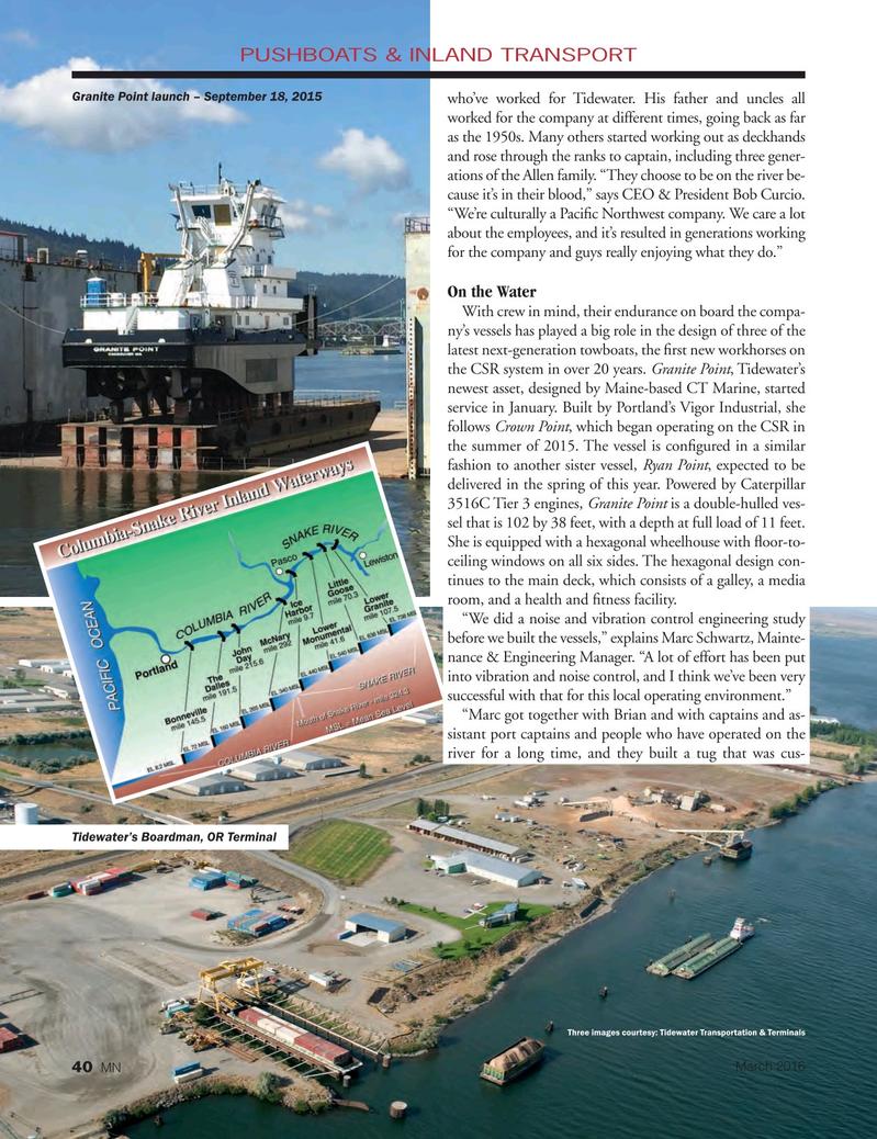 Marine News Magazine, page 40,  Mar 2016
