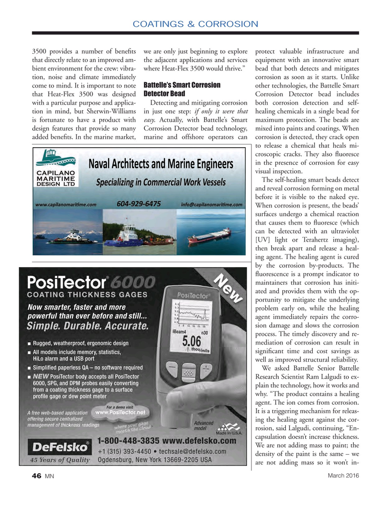 Marine News Magazine, page 46,  Mar 2016