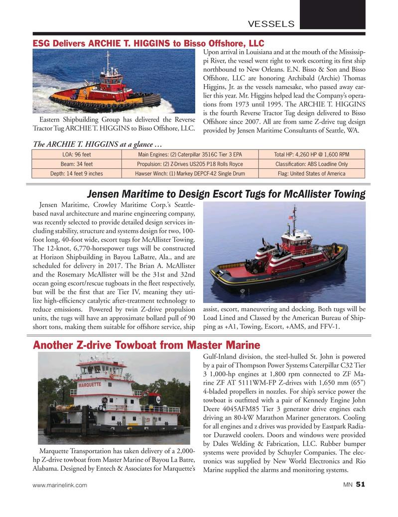 Marine News Magazine, page 51,  Mar 2016