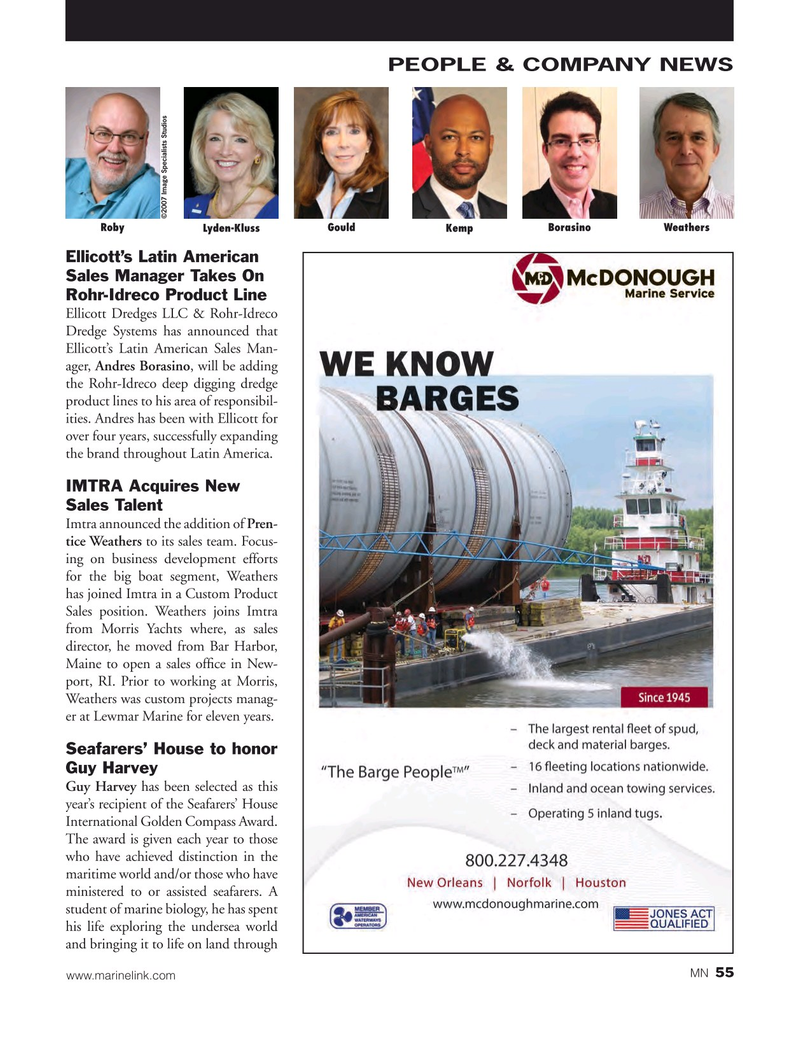 Marine News Magazine, page 55,  Mar 2016