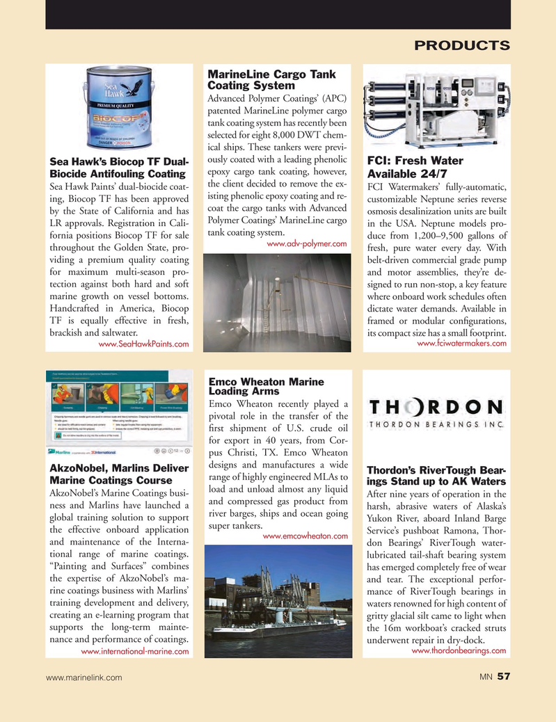 Marine News Magazine, page 57,  Mar 2016